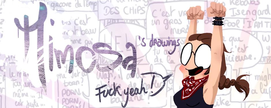 Mimosa's Drawings