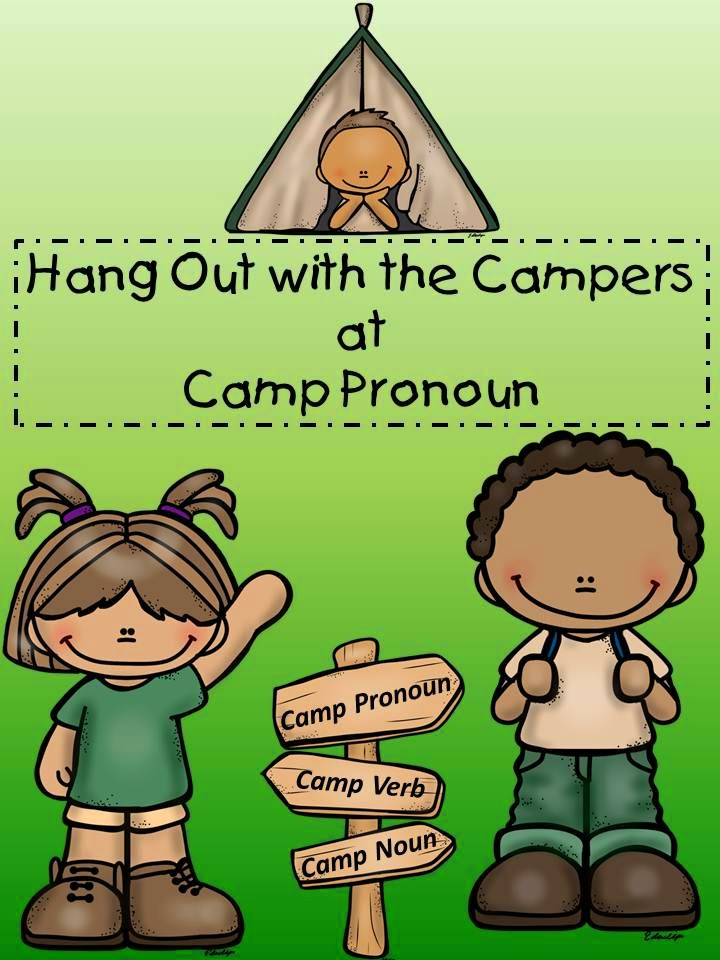 http://www.teacherspayteachers.com/Product/Hang-Out-with-the-Campers-at-Camp-Pronoun-1240122