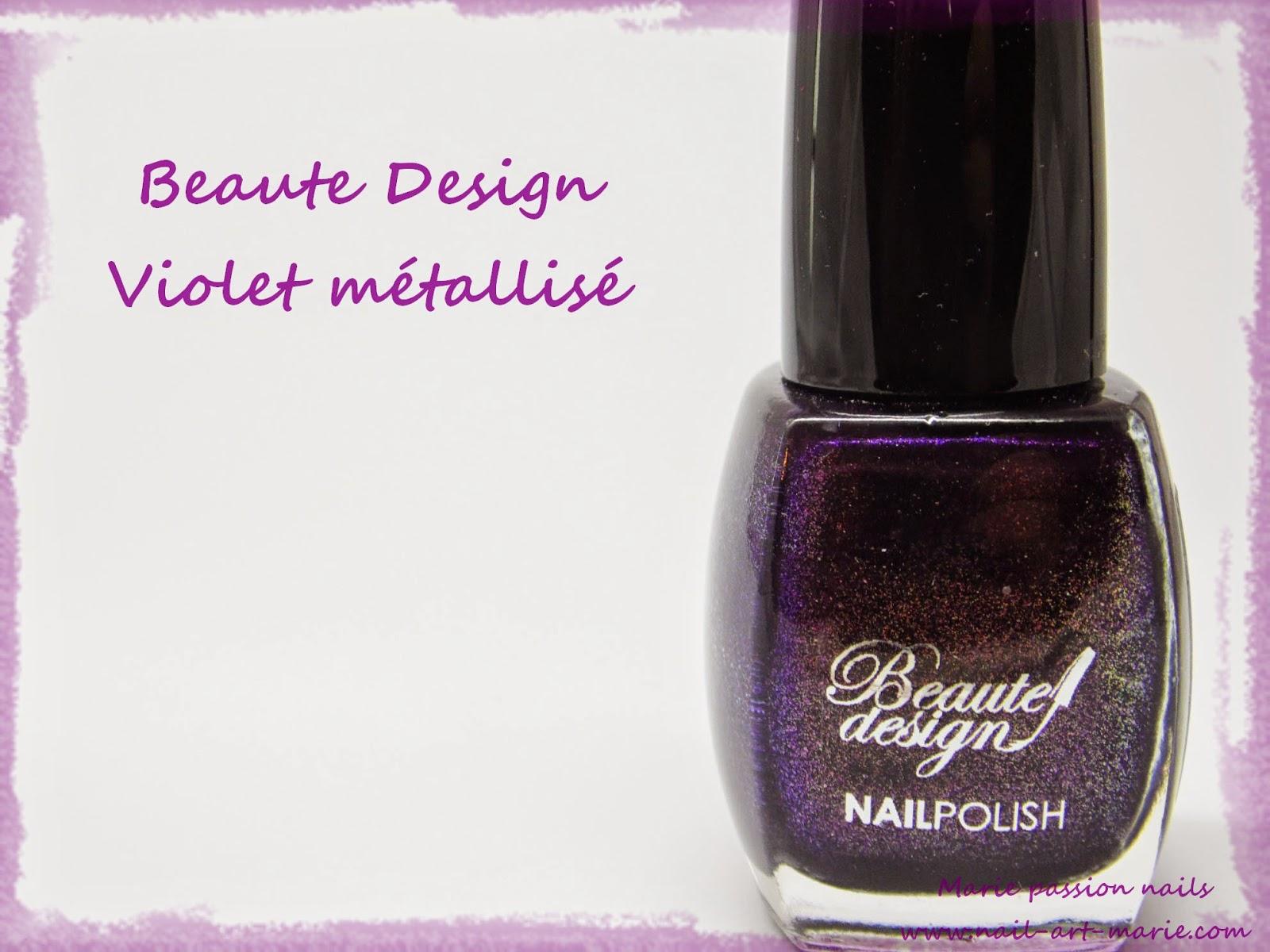 Beautedesign Violet Métallisé1