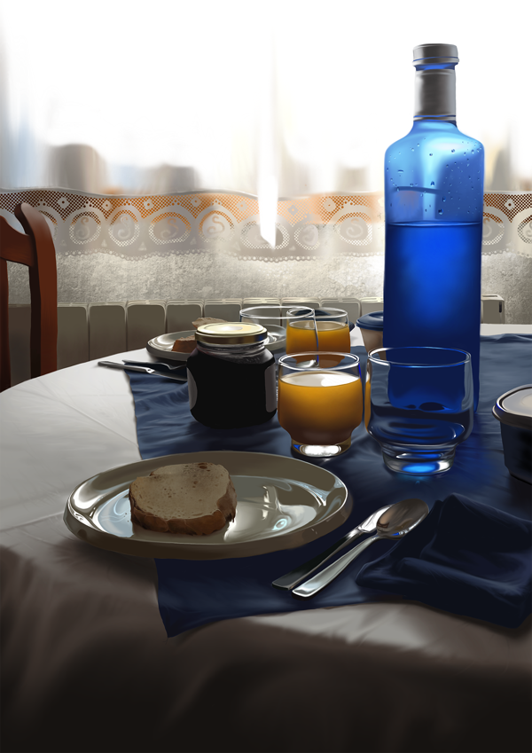 10-Breakfast-Light-Jaime-Sanjuan-Ocabo-The Beauty-of-Paintings-in-Digital-Art-www-designstack-co