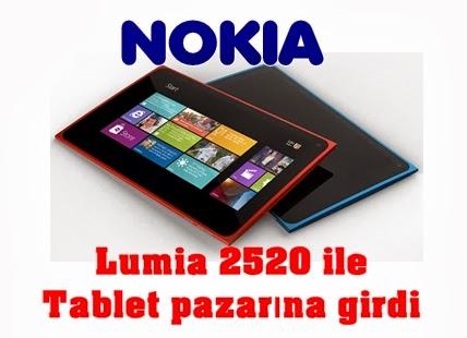 Nokia da tablet işine girdi