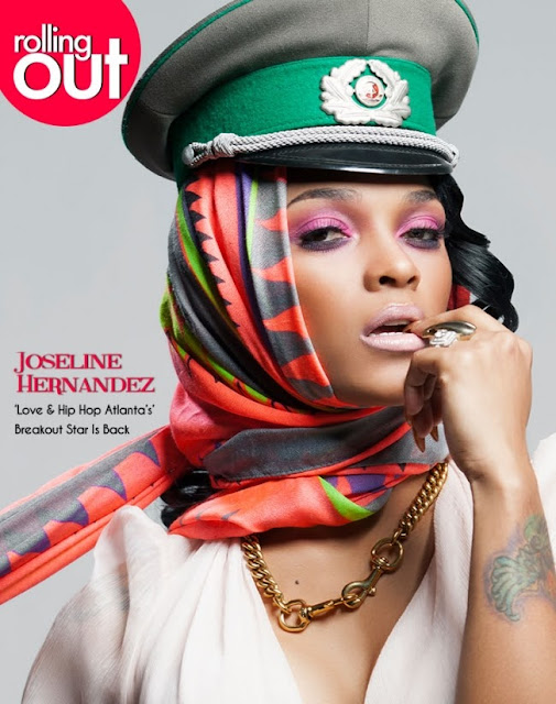 Magazine Love: Joseline Hernandez Graces the Cover of Rolling Out Magazine!