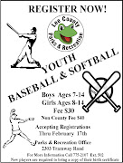 Youth Baseball & Softball RegistrationLee County Parks & Recreation