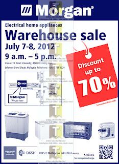 Morgan Electrical Warehouse Sale 2012