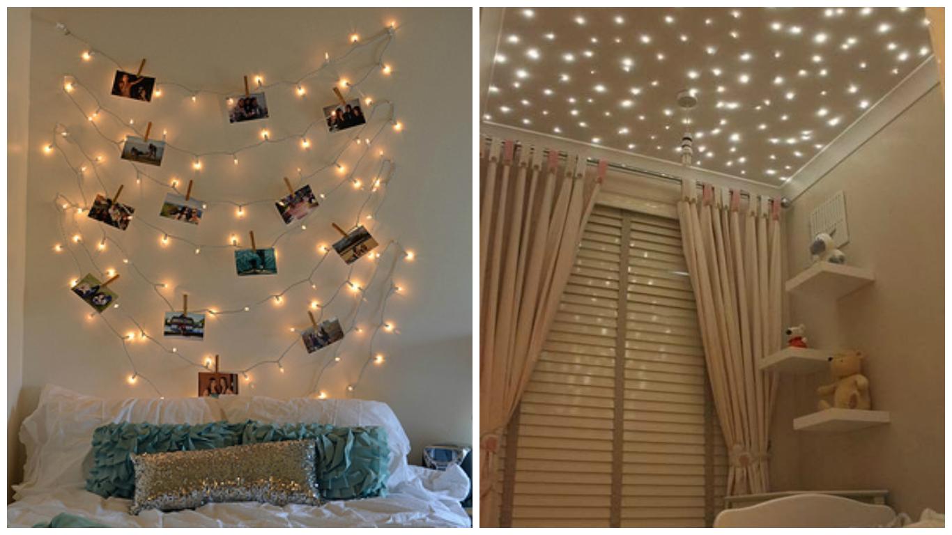 Bruna Dalpr Decora O Com Luzes De Natal -> Decoracao Para Sala Aconchegante