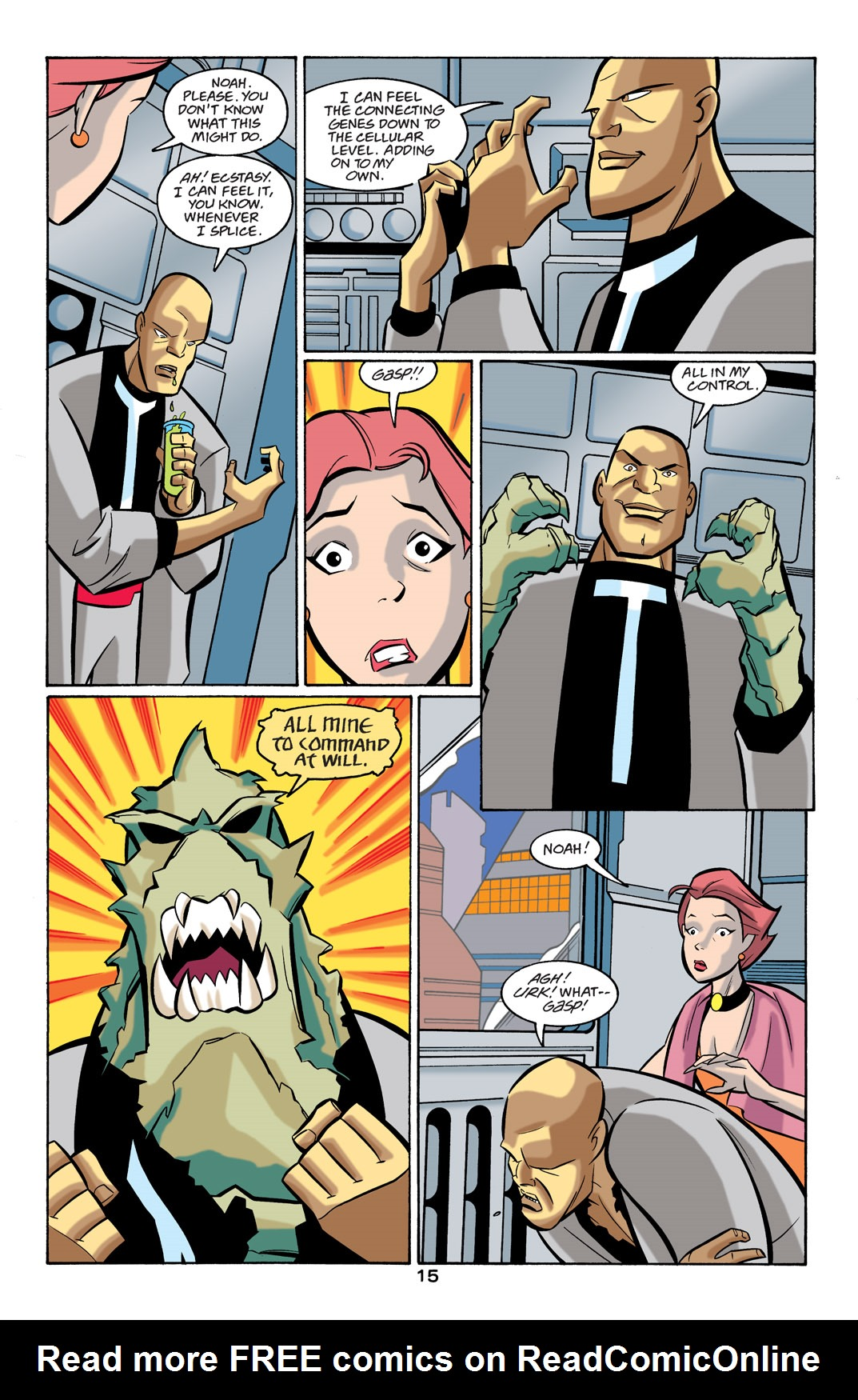 Batman Beyond [II] Issue #24 #24 - English 16