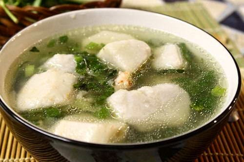 Taro Soup with Shrimps Recipe - Canh Khoai Môn Nấu Tôm