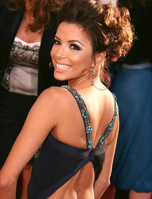 celebrity hairstyles eva longoria. Celebrity Updo Hairstyle