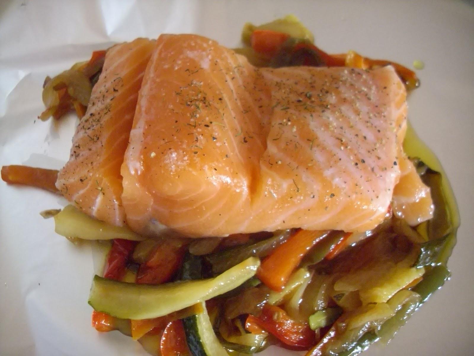 Consejos y trucos de cocina salm n en papillot - Formas de cocinar salmon ...