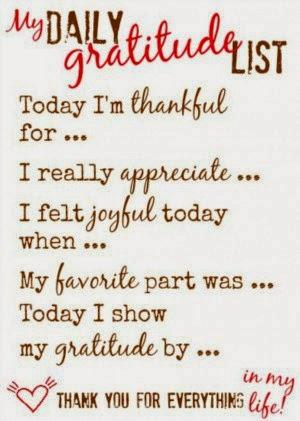 Make gratitude your attitude essay