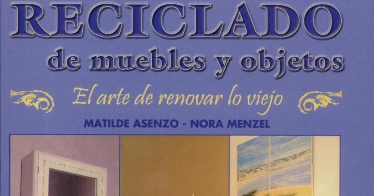 Revistas de manualidades gratis reciclado de muebles y for Reciclado de muebles y objetos