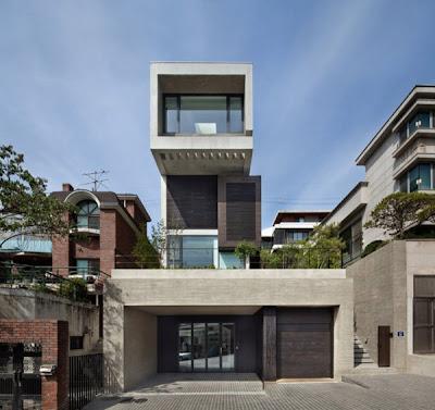 Rumah Modern Korea 3