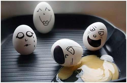 Telur Yang Unik Dan Lucu