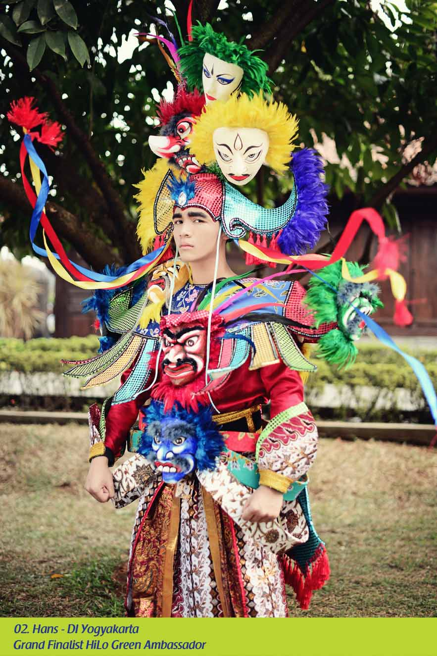 gagay indonesia grand finalist pria hilo green ambassador