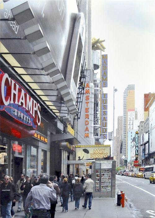 Denis Peterson pinturas hiper-realistas fotografia tristeza miséria Caminhando por Nova York