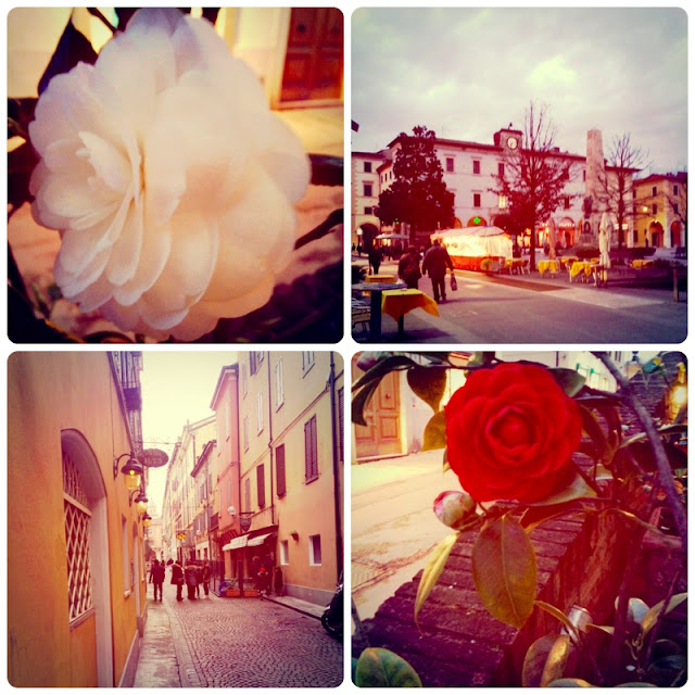 Fräulein Berger fühlt sich in Italien wohl