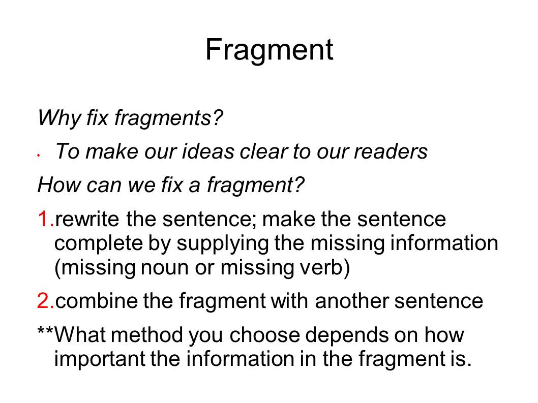check my essay for fragments