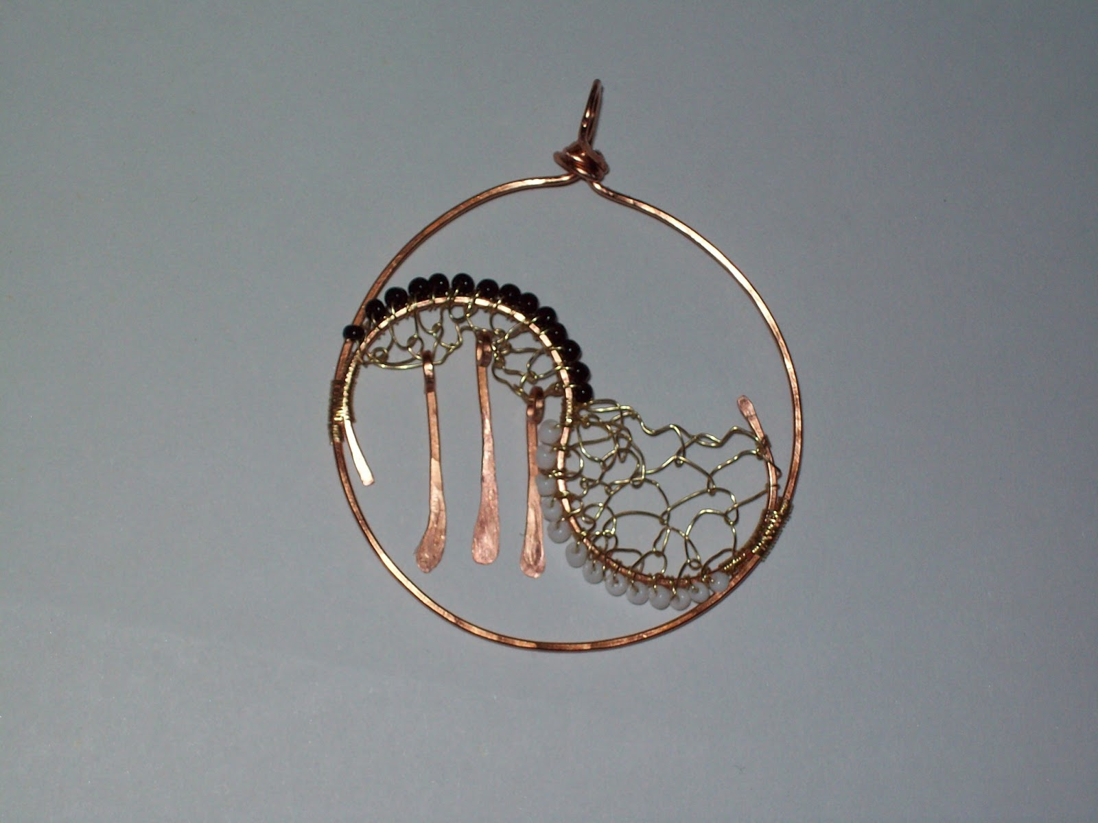make spiral necklace with wire intro to pictures bead ring steps how a