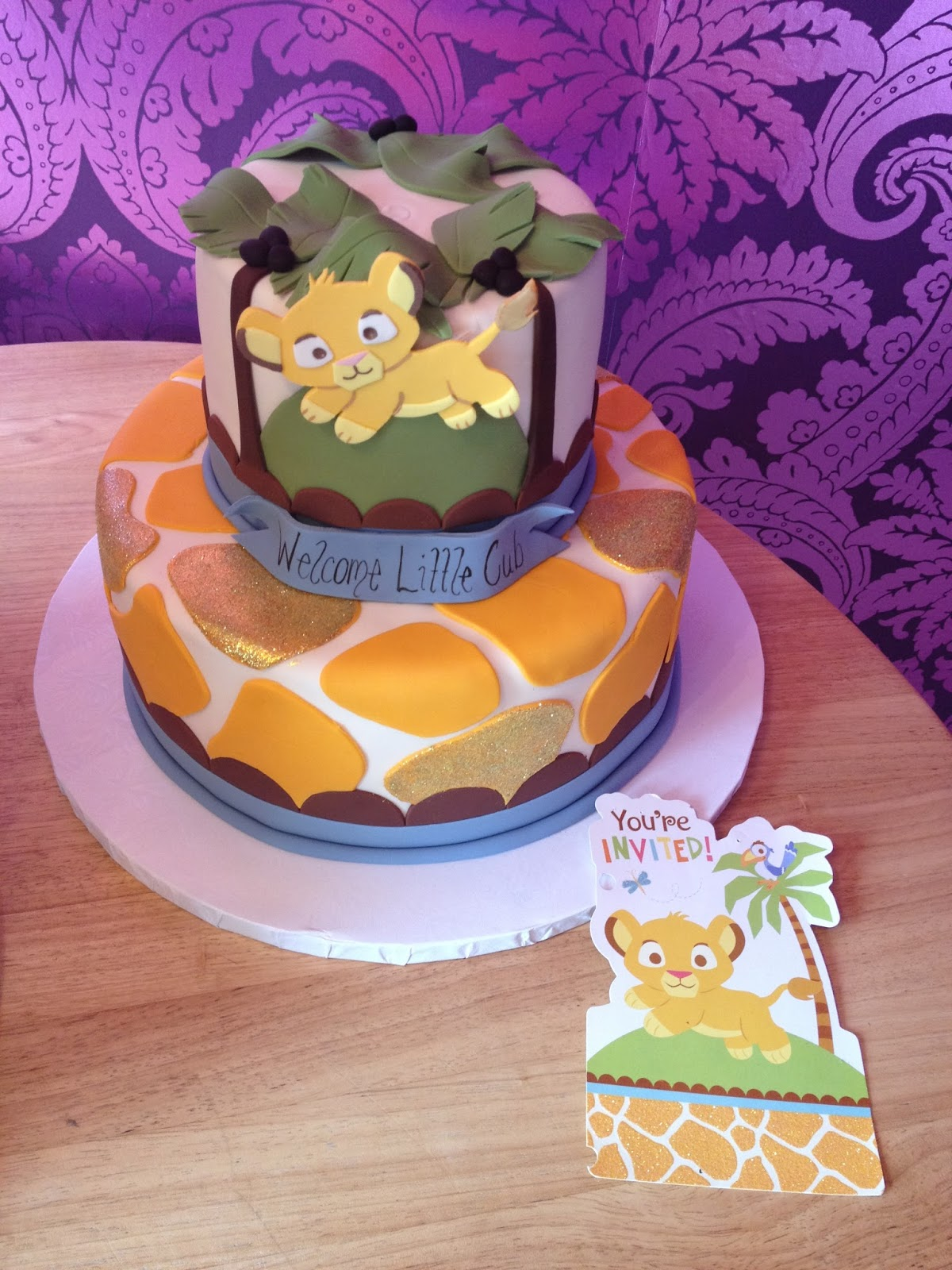 bake my day the cake boutique cake friday welcome little cub