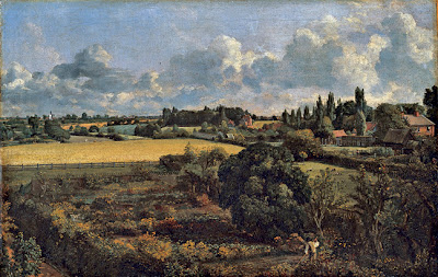 John Constable - Golding Constable's Vegetable garden,1815