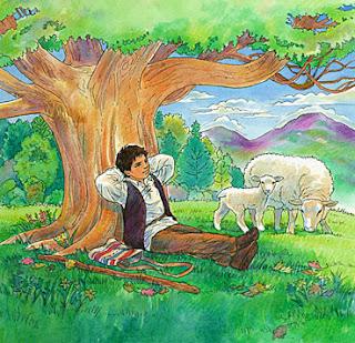 fábula el pastor mentiroso y el lobo, fabulas infantiles con moraleja cortas para niños