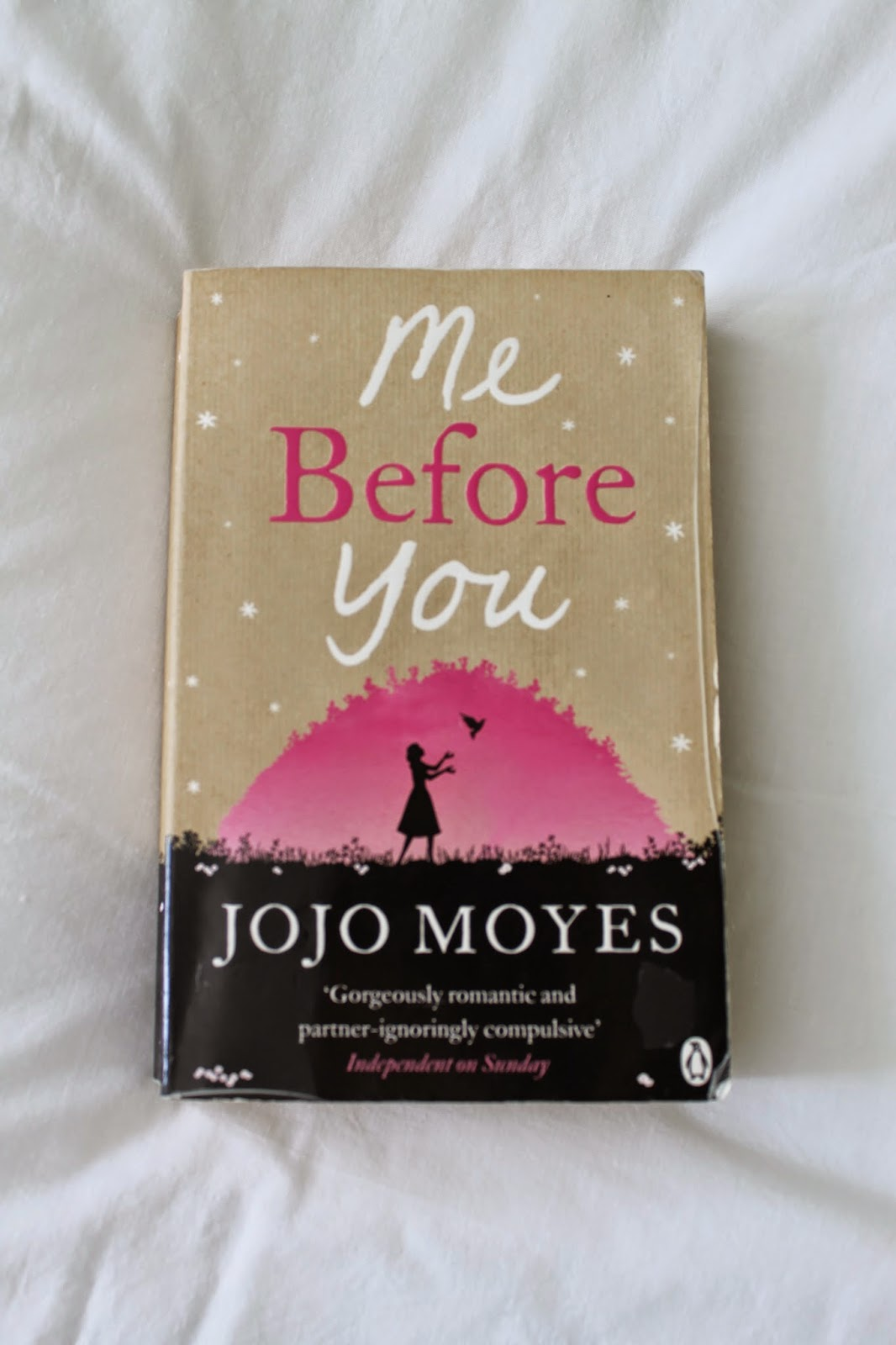Review Me Before You By Jojo Moyes