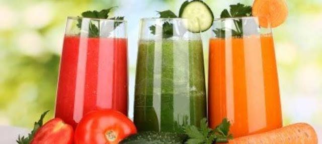 propiedades zumos detox por colores