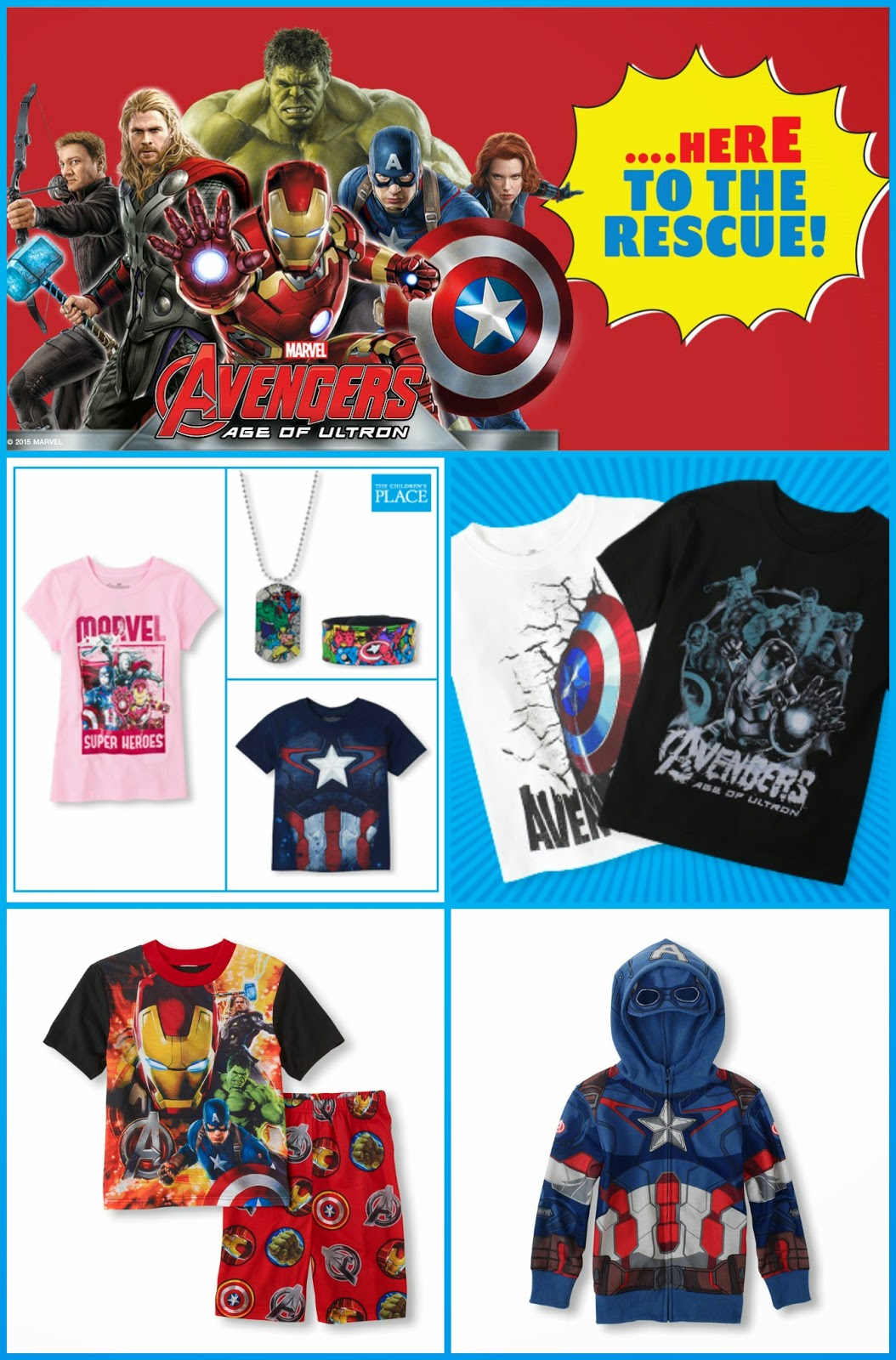 Children's Marvel Clothing