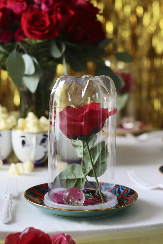 How To Beauty And The Beast Rose Jar Hunted Interior Bloglovin