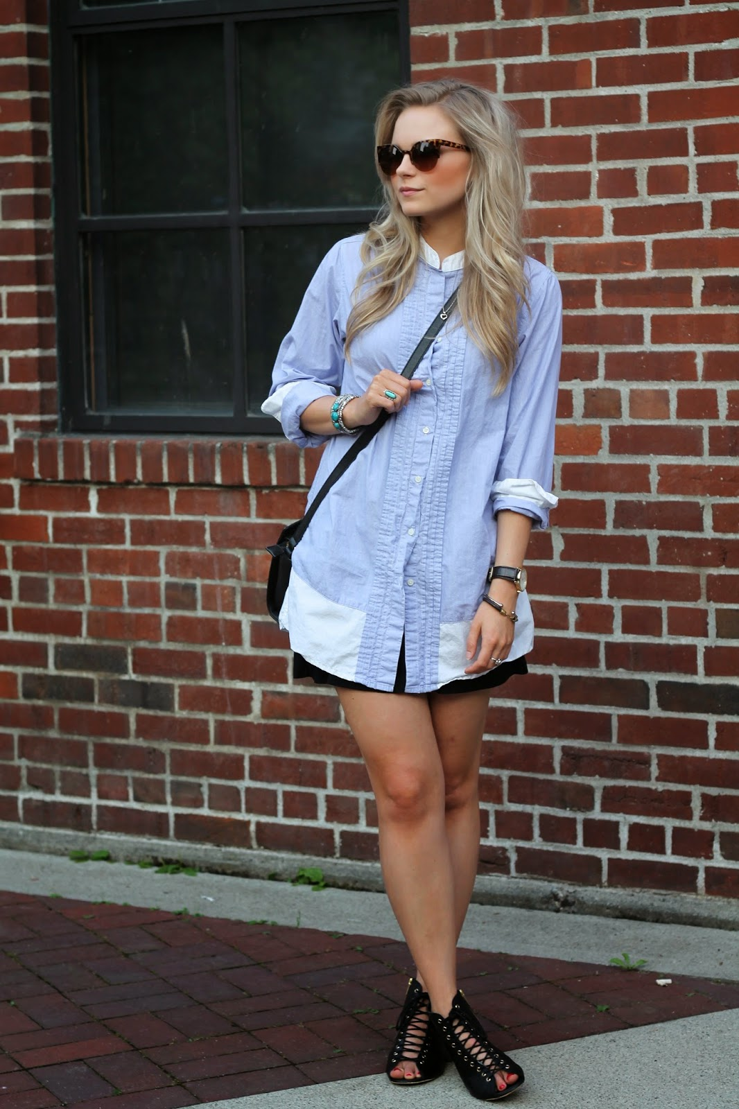 how to wear a t shirt dress