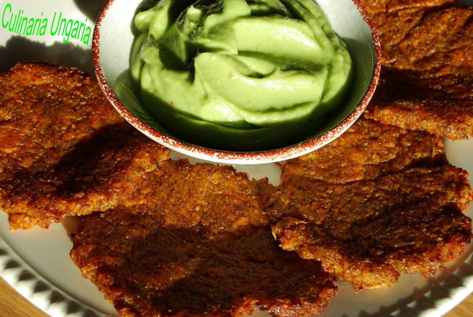 culinaria ungaria s kartoffel reibekuchen mit avocado dip. Black Bedroom Furniture Sets. Home Design Ideas