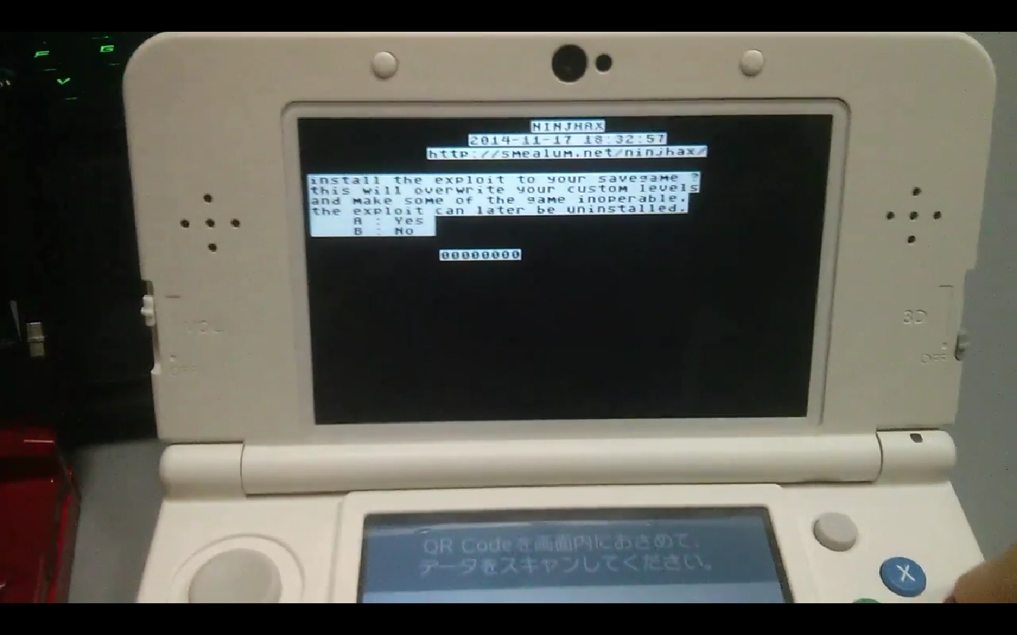 how to run kernel exploit on 3ds