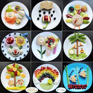 Muchos platos divertidos