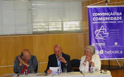 1ª Convenção da Comunidade Judaica