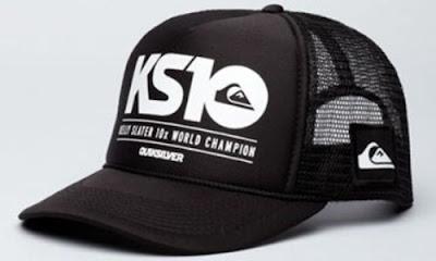 Gorra QuickSilver negro camionero skate cap