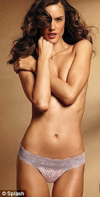 alessandra ambrosio topless