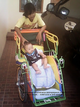 Becak mini Memen n baby