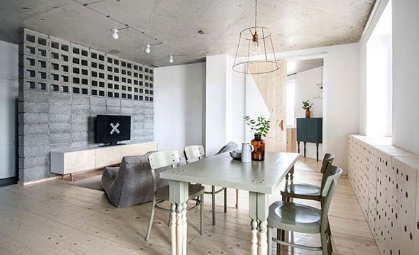 Un appartamento di mq in stile scandinavo coffee break the
