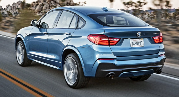 Bmw S Range Topping 355hp X4 M40i Coupe Suv Priced At 57 800
