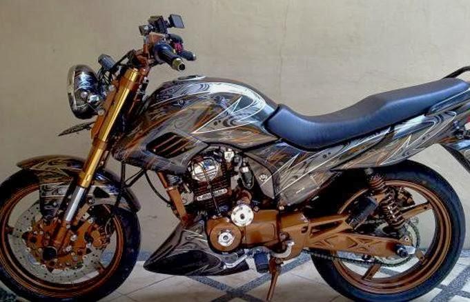 modifikasi motor honda verza