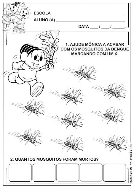 Atividade Matemática Temática Dengue