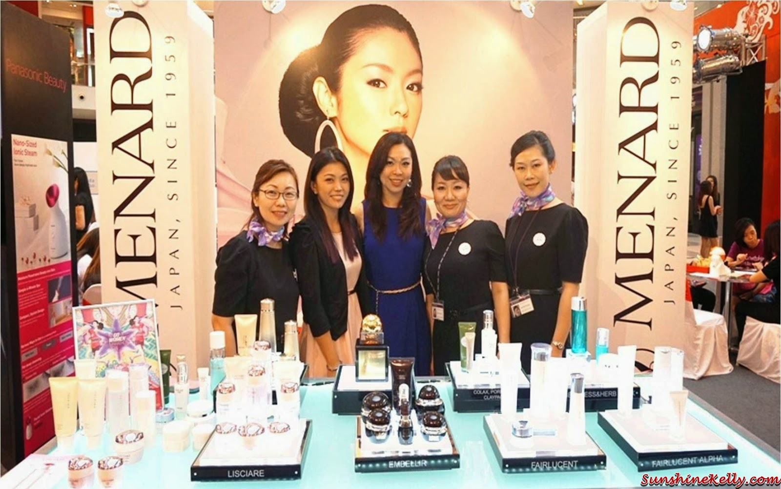 menard team, Menard Lisciare Review & On Stage with Ayumi, menard, lisciare, menard lisciare, skincare, on stage, japan skincare, japan beauty products, japan beauty week