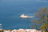 Bourtzi - a fortification in Nafplio - Greece