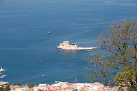 Bourtzi - a fortification in Nafplio - Greece