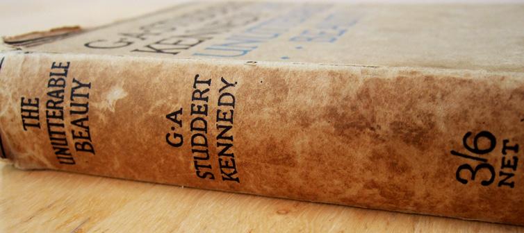 studdert kennedy poems