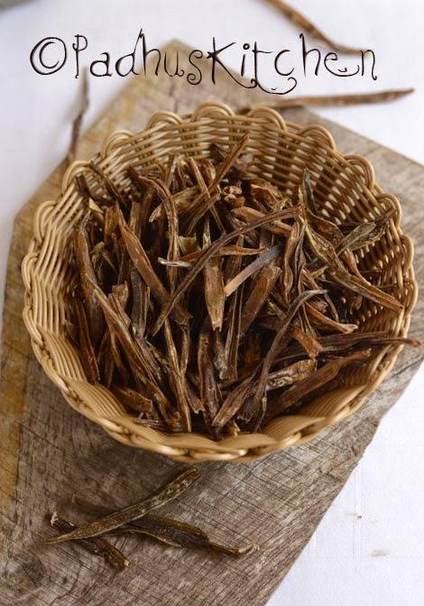 How to make Kothavarangai Vathal-Sun dried vegetable