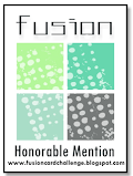 5 x Fusion Card Challenge Honorable Mention