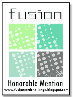 Fusion Card Challenge Honorable Mention