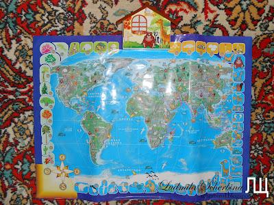 звуковая карта мира