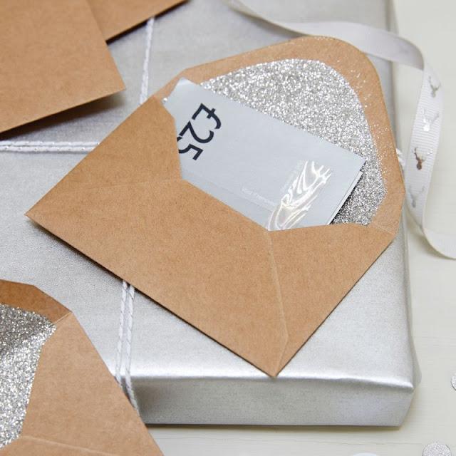 GOOD CHEER - Glitter Envelopes